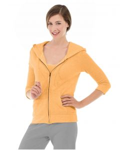 Selene Yoga Hoodie-S-Orange