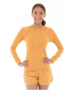 Hera Pullover Hoodie-XS-Orange