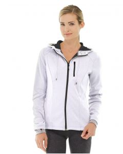 Phoebe Zipper Sweatshirt-XL-White